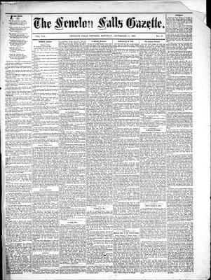 Fenelon Falls Gazette, 11 Sep 1880