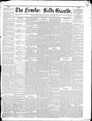 Fenelon Falls Gazette, 18 Sep 1880