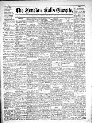 Fenelon Falls Gazette, 5 Feb 1881