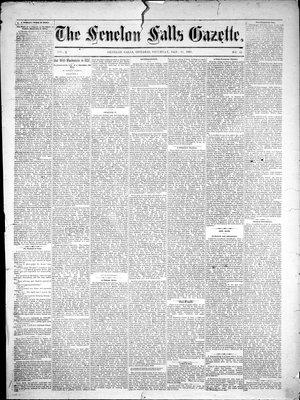 Fenelon Falls Gazette, 20 Jan 1883