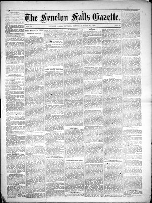Fenelon Falls Gazette, 31 Mar 1883