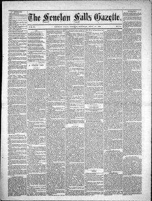 Fenelon Falls Gazette, 15 Sep 1883