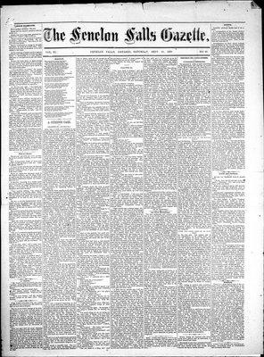 Fenelon Falls Gazette, 22 Sep 1883