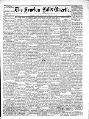 Fenelon Falls Gazette, 31 May 1884