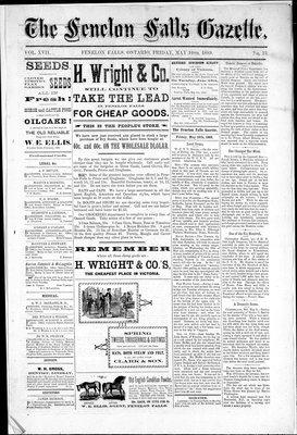 Fenelon Falls Gazette, 10 May 1889
