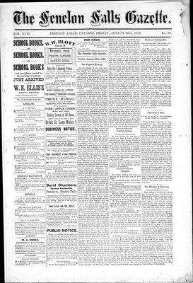 Fenelon Falls Gazette, 30 Aug 1889