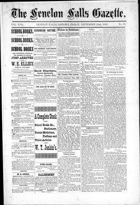 Fenelon Falls Gazette, 13 Sep 1889