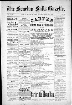 Fenelon Falls Gazette, 25 Apr 1890