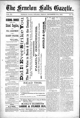 Fenelon Falls Gazette, 16 Sep 1892