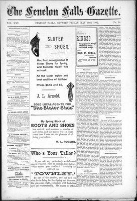 Fenelon Falls Gazette, 16 May 1902