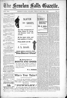 Fenelon Falls Gazette, 30 May 1902