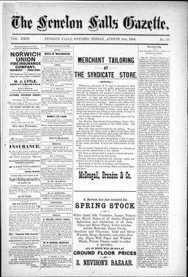 Fenelon Falls Gazette, 9 Aug 1895