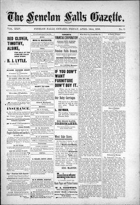 Fenelon Falls Gazette, 10 Apr 1896