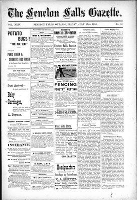Fenelon Falls Gazette, 17 Jul 1896