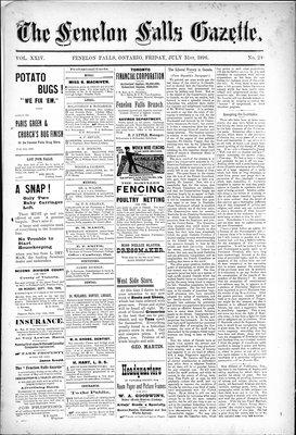 Fenelon Falls Gazette, 31 Jul 1896