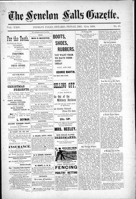 Fenelon Falls Gazette, 11 Dec 1896