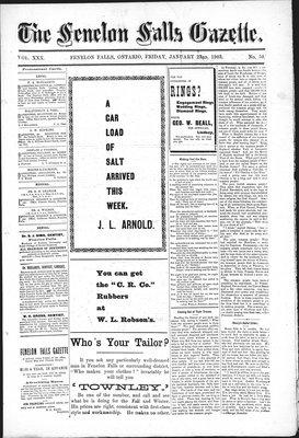 Fenelon Falls Gazette, 23 Jan 1903