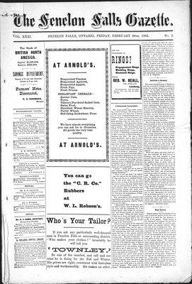 Fenelon Falls Gazette, 20 Feb 1903