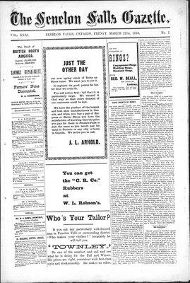 Fenelon Falls Gazette, 27 Mar 1903