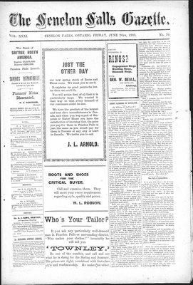 Fenelon Falls Gazette, 26 Jun 1903