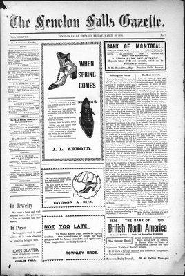 Fenelon Falls Gazette, 25 Mar 1910