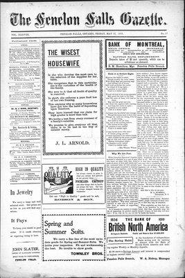 Fenelon Falls Gazette, 27 May 1910