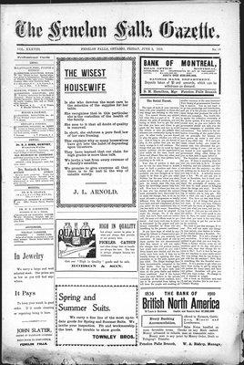 Fenelon Falls Gazette, 3 Jun 1910