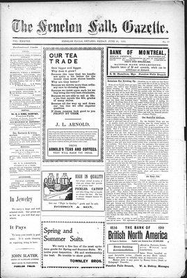 Fenelon Falls Gazette, 10 Jun 1910