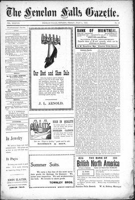 Fenelon Falls Gazette, 1 Jul 1910