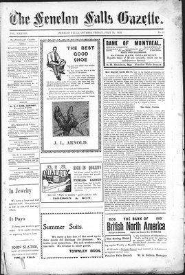 Fenelon Falls Gazette, 15 Jul 1910