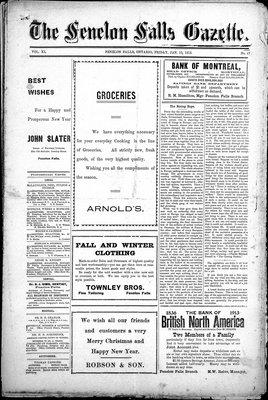 Fenelon Falls Gazette, 10 Jan 1913