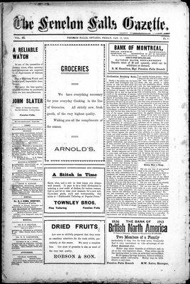 Fenelon Falls Gazette, 17 Jan 1913