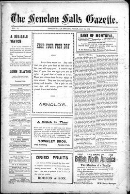 Fenelon Falls Gazette, 24 Jan 1913
