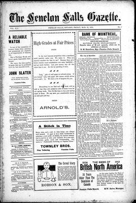 Fenelon Falls Gazette, 21 Mar 1913