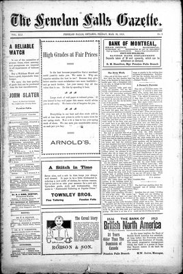 Fenelon Falls Gazette, 28 Mar 1913