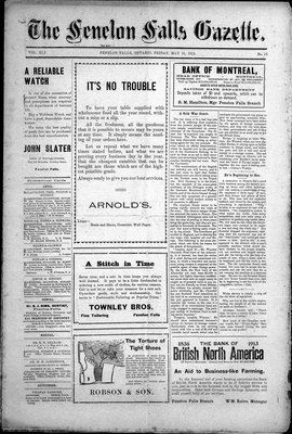 Fenelon Falls Gazette, 16 May 1913