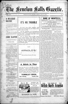 Fenelon Falls Gazette, 18 Jul 1913