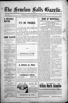 Fenelon Falls Gazette, 15 Aug 1913