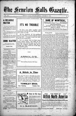 Fenelon Falls Gazette, 31 Oct 1913