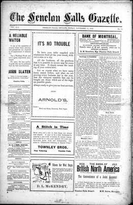 Fenelon Falls Gazette, 14 Nov 1913