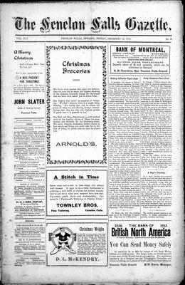 Fenelon Falls Gazette, 12 Dec 1913