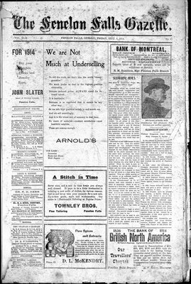 Fenelon Falls Gazette, 4 Sep 1914