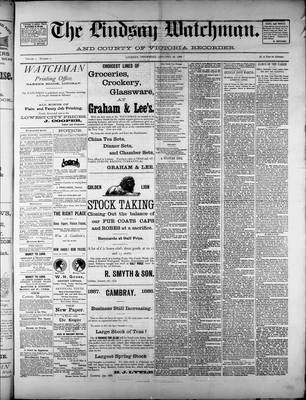 Watchman (1888), 26 Jan 1888