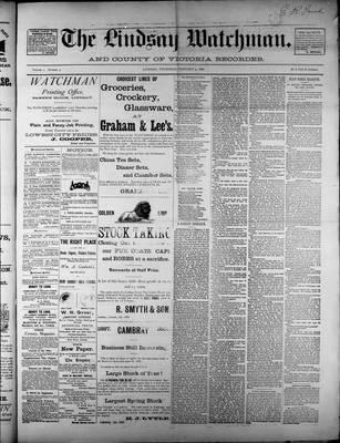 Watchman (1888), 9 Feb 1888