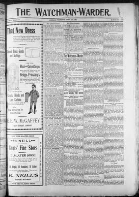 Watchman (1888), 20 Apr 1899
