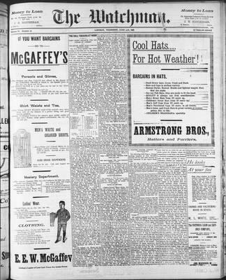 Watchman (1888), 30 Jun 1898