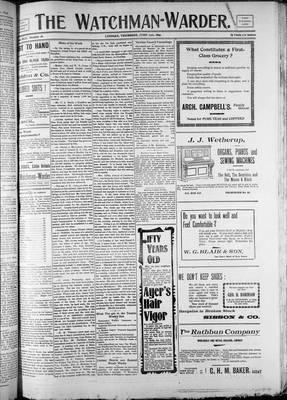 Watchman (1888), 29 Jun 1899