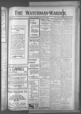 Watchman Warder (1899), 28 Aug 1902