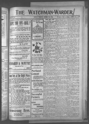 Watchman Warder (1899), 23 Oct 1902