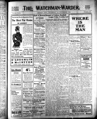Watchman Warder (1899), 1 Nov 1906